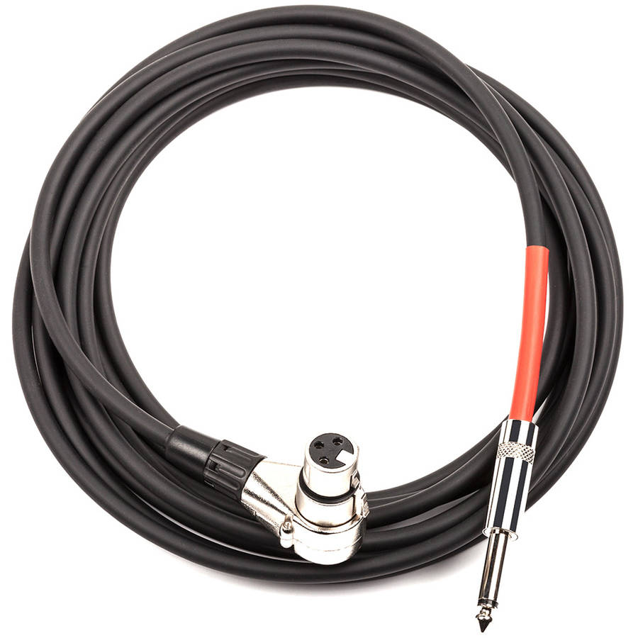 ddrum Right Angle XLR to 1/4 Trigger Cable