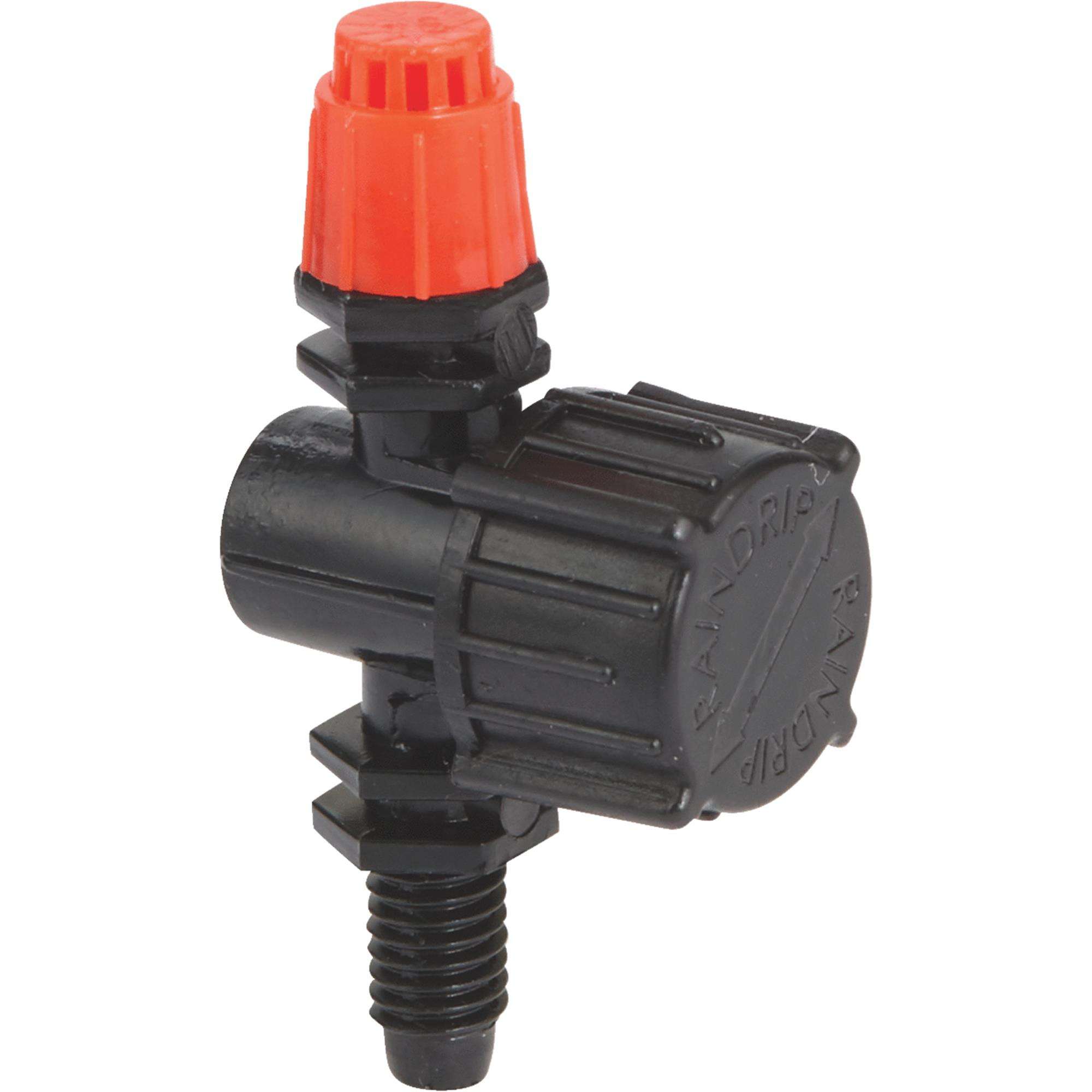 Rain Drip A180010B Full Circle Adjustable Stream Sprayer 10-Count