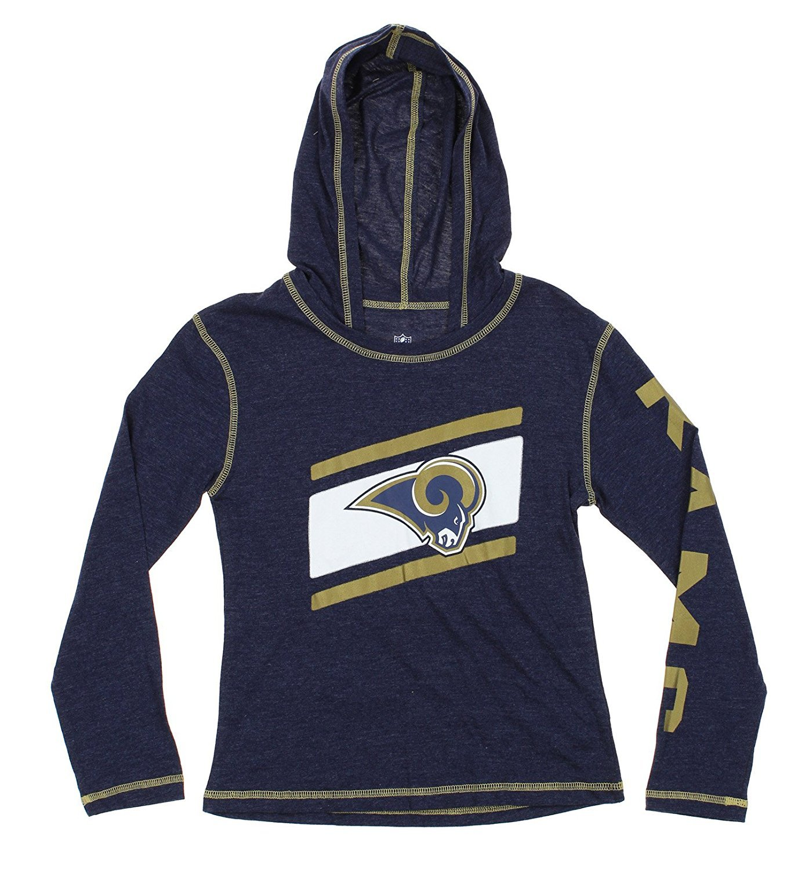 NFL Youth Los Angeles Rams Super Hood Long Sleeve Shirt