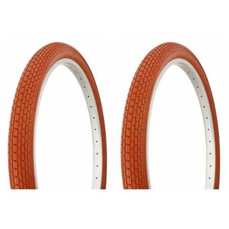 "Image of ""Tire set. 2 Tires. Two Tires Duro 26"""" x 2.125"""" Clay/Clay Side Wall HF-133."""