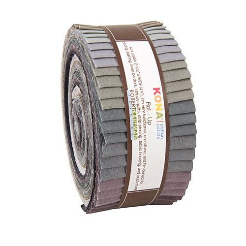 Gray Valance Curtain Chevron Stripe Kona Cotton 42W x 14L