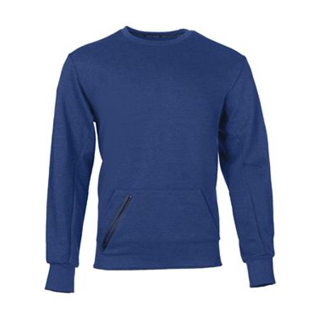 - Russell Athletic Cotton Rich Crewneck Sweatshirt M Blue Heather