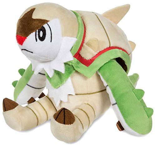 Pokemon Center Original (7-inch) Stuffed Poke Plush Doll Sitting Chesnaught (Brigarron) - image 1 de 1