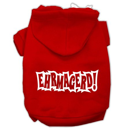 Ehrmagerd Screen Print Pet Hoodies Red Size Sm (10) A poly/cotton sleeved hoodie for cold weather days, double stitched in all the right places for comfort and durability!Product Summary : New Pet Products/Screen Print Hoodies/Ehrmagerd Screen Print Pet Hoodies@Pet Apparel/Dog Hoodies/Screen Print Hoodies/Ehrmagerd Screen Print Pet Hoodies@Pet Apparel/Dog Hoodies/Screen Print Hoodies COPY/Ehrmagerd Screen Print Pet Hoodies