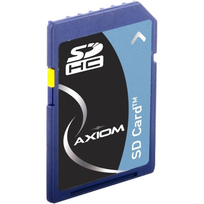 Axiom AX - flash memory card - 8 GB - SDHC