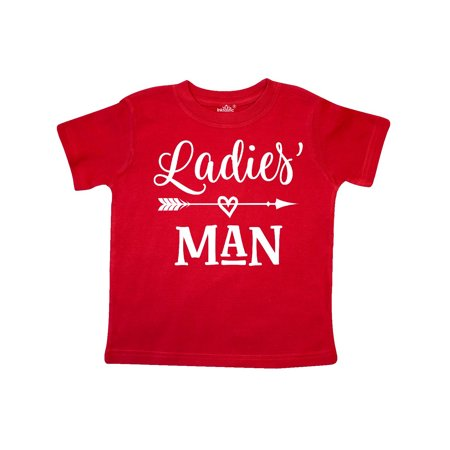 Valentine Boys Ladies Man Toddler T-Shirt