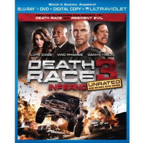 Death Race 3: Inferno (Blu-ray + DVD + Digital Copy) (With INSTAWATCH) (Widescreen)