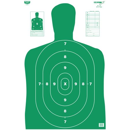 BIRCHWOOD CASEY 23X35 INCH EZE-SCORER PLAIN PAPER TARGETS - 5 SHEET (Best Spotting Scope For Target Shooting)