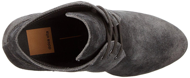 Dolce Vita Women's Gwen Ankle Bootie, Anthracite, Size 9.5