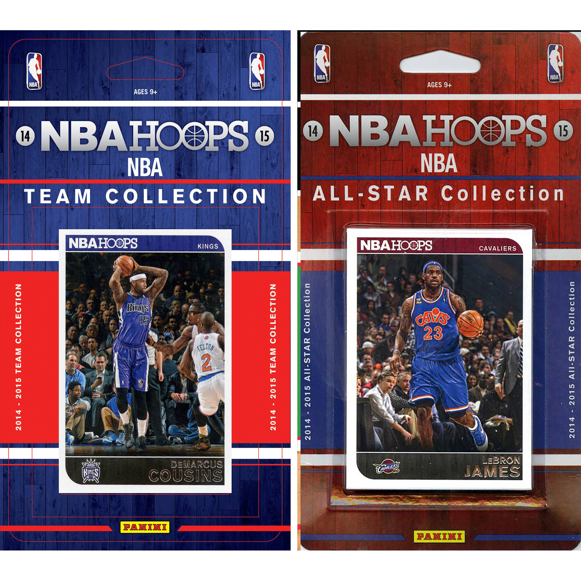C&I Collectables NBA Sacramento Kings Licensed 2014-15 Hoops Team Set Plus 2014-15 Hoops All-Star Set