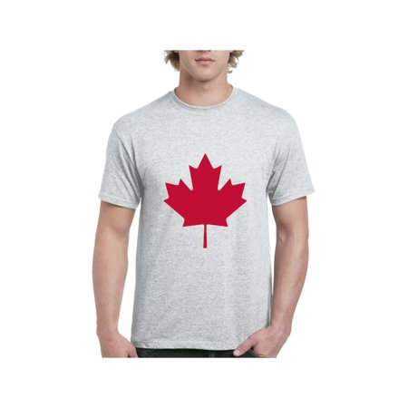 Maple Leaf Symbol T-shirt (Canada Maple Leaf Canadian State Flag Men's Short Sleeve T-Shirt )