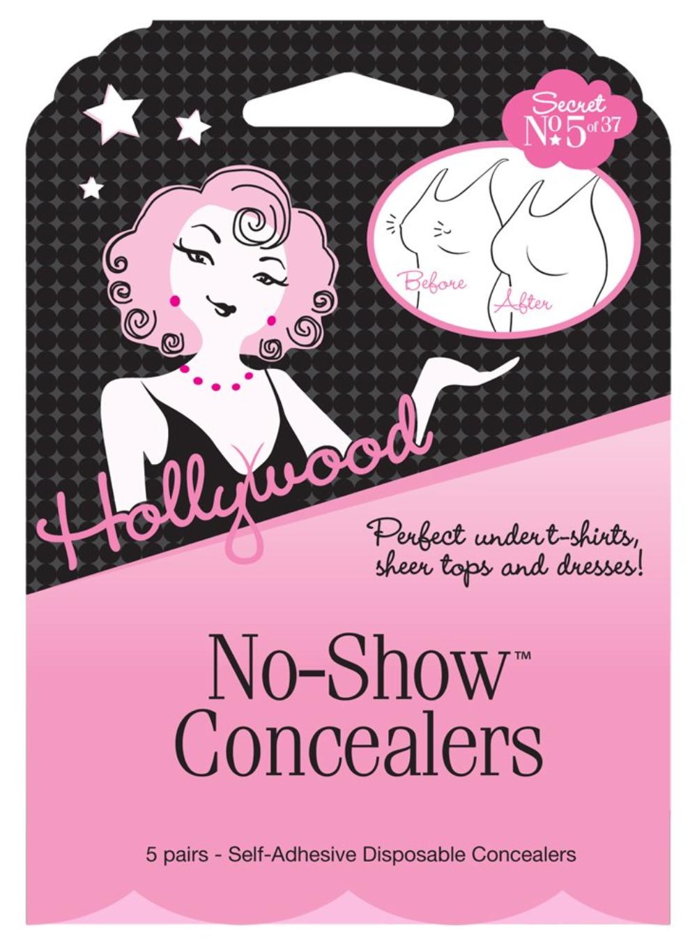 Disposable CoverUps Hollywood Fashion No-Show Concealers 5 Pairs