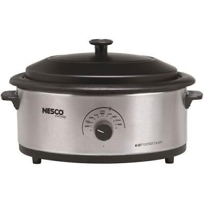 - Nesco 6-Quart SS Electric Roaster Oven
