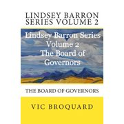 Lindsey Barron Series Volume 2 the Board of Governors