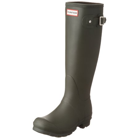 Hunter WFT1000RMA-DOV: Women's Original Tall Rain Dark Olive Boot - Hunter Boots Child