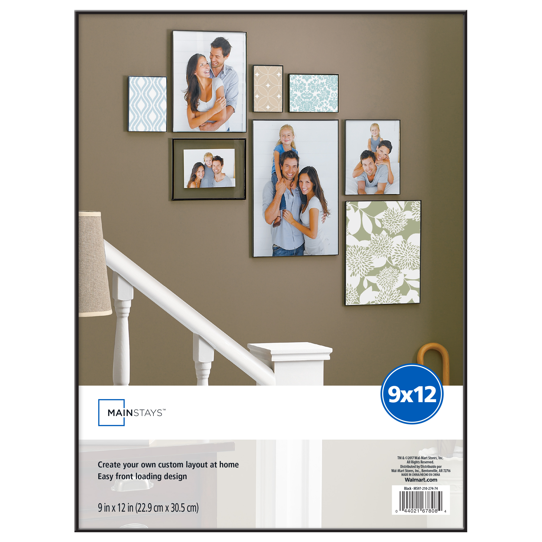 Mainstays 9x12 Black Format Frame Walmartcom