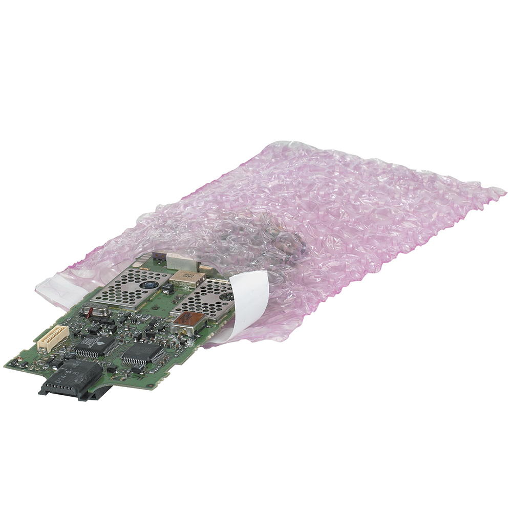 Anti-Static Bubble Bag,12 in. W,PK200 39UL03