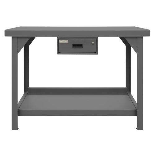 Durham Manufacturing Extra Heavy Duty Steel Top Workbench by Durham