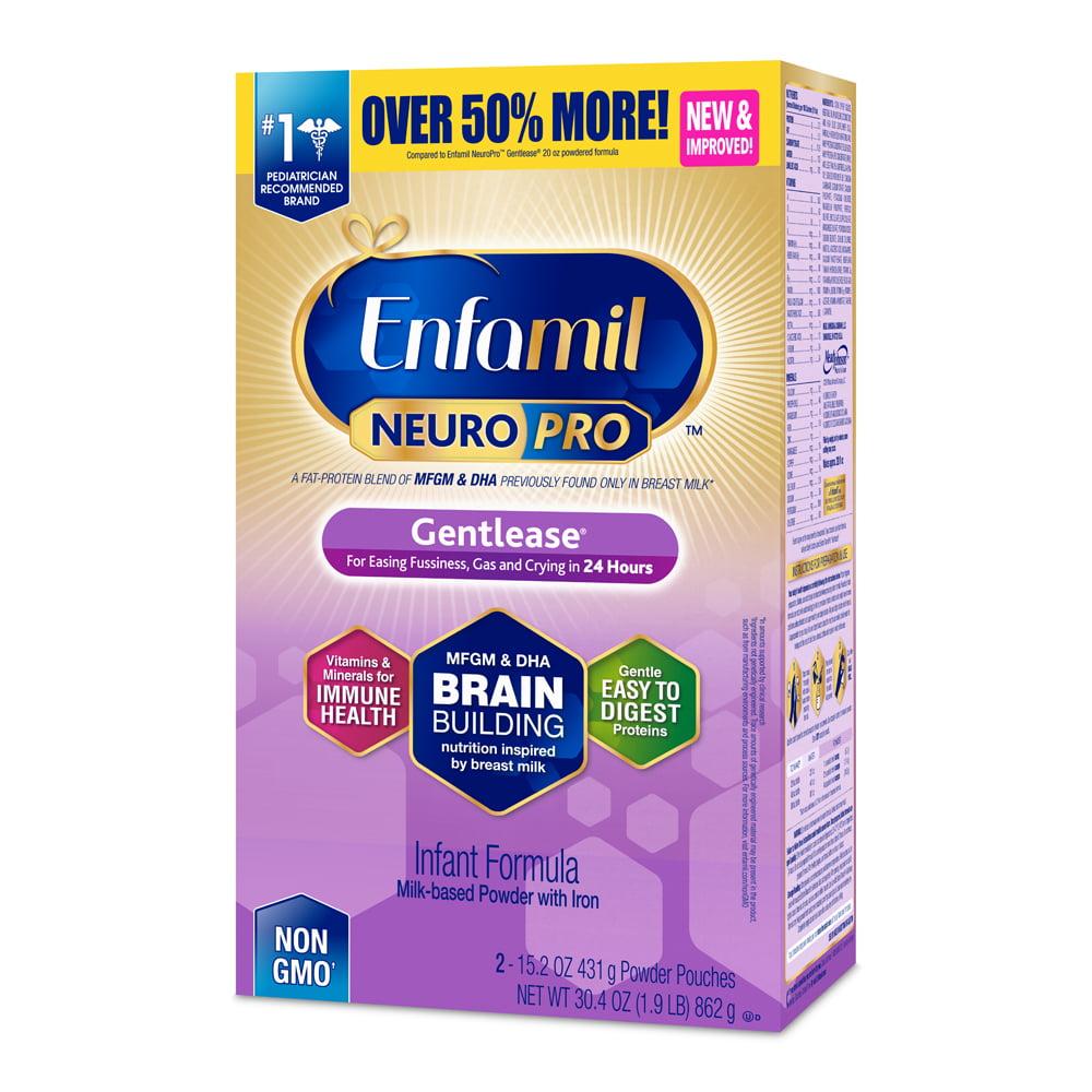 Enfamil Gentlease NeuroPro Baby Formula, 30.4 oz Powder Refill Box