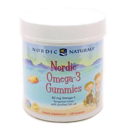 Nordic Naturals oméga-3 Nordic gélifiés 120ct