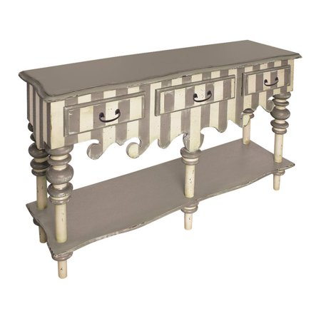Sterling Rococo Sideboard Gray Cream