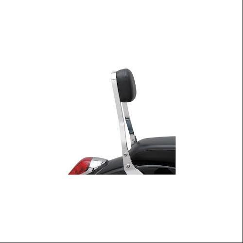 "Cobra Square Mini 11"" Sissy Bar Chrome Fits 95-99 Honda VT1100C2 Shadow ACE"
