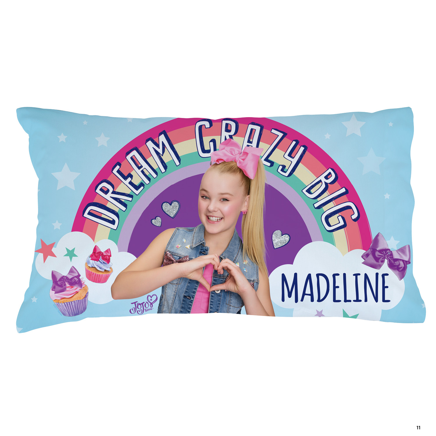 Personalized JoJo Siwa Pillowcase - Dream Crazy Big