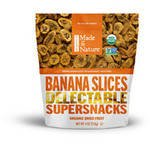 (Made in Nature Organic Dried Banana Slices, 4 oz)