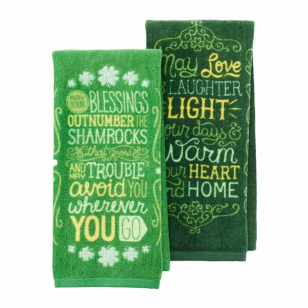 Celebrate St Patrick S Day Together 2 Pack Kitchen Towel Set