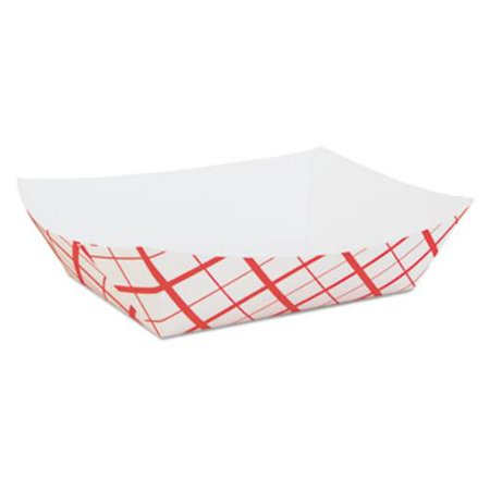 Southern Champion Tray SCH0429 Paper Food Baskets, Red/white Checkerboard, 5 Lb Capacity, 500/carton (Checkered Paper)