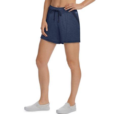 Champion Spandex Shorts (Champion Women's Heathered Jersey Shorts - M1659 )