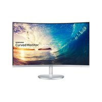 """SAMSUNG 27"""" Class Curved LED (1920x1080) Monitor - LC27F591FDNXZA"""