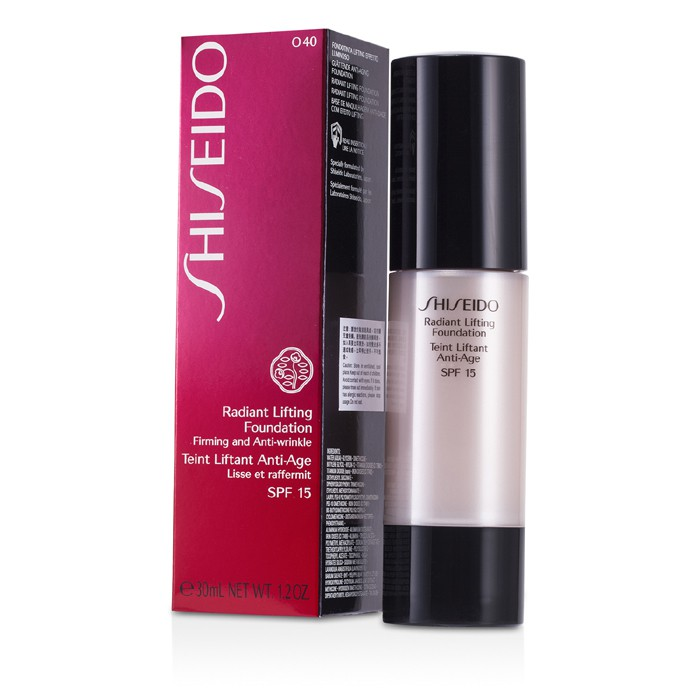Shiseido - Radiant Lifting Foundation SPF 15 - # O40 Natural Fair Ochre -30ml/1.2oz