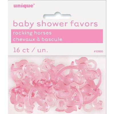 Unique Industries Party Favors 24//Pkg-Pink Baby Rattles