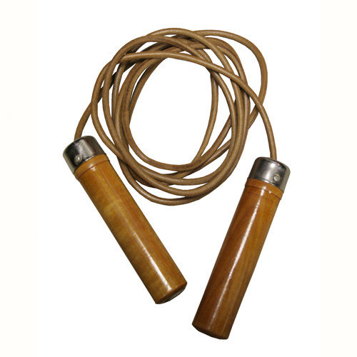 Amber Sporting Goods Leather Jump Rope