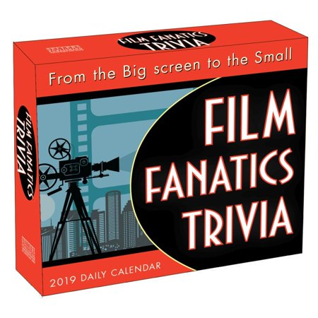2019 Film Fanatics Trivia Desk Calendar, by Sellers Publishing - Halloween Film Trivia