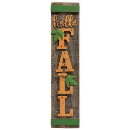 Hello Fall Wood Sign ()