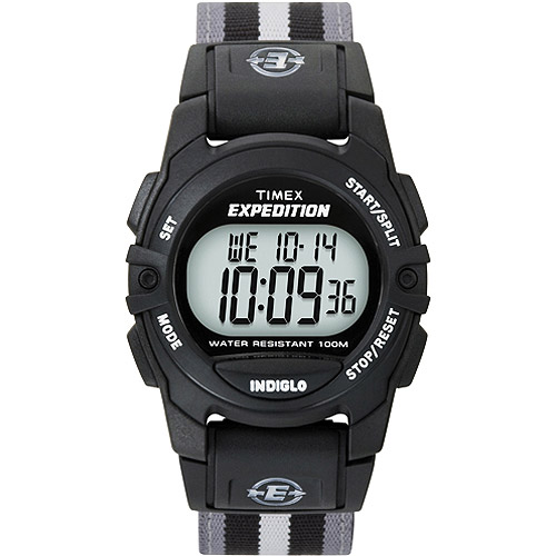 Timex Unisex Expedition Trail Series CAT Watch, Grey and Black Nylon Strap