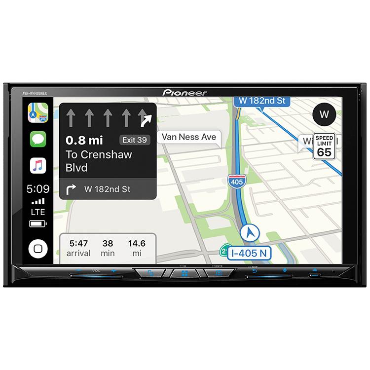 "Pioneer AVH-W4400NEX 2-DIN Car In-Dash DVD CD Bluetooth Receiver 7"" Touchscreen"