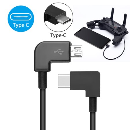 Type-C USB Cable Remote Control Data Connected Cable Line Wire to Mobile  Phone Tablet Type-C USB Connector for DJI Spark Mavic Pro