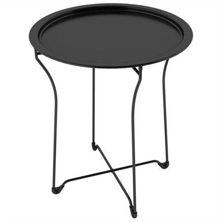 Atlantic Metal Side Table, Black Metal Side Table