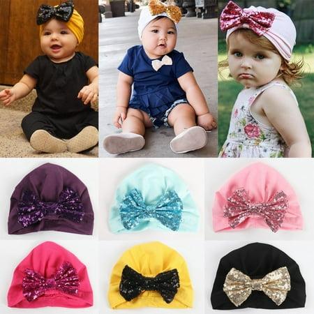 Baby Toddler Girls Boys Infant Warm Winter Knit Beanie Hat Crochet Ski Ball Cap Christmas - Beanie Gift