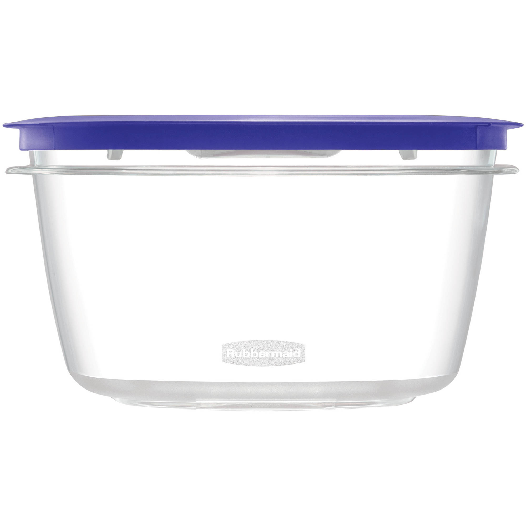 Rubbermaid Premier Food Storage Container, 14 Cup, Iris