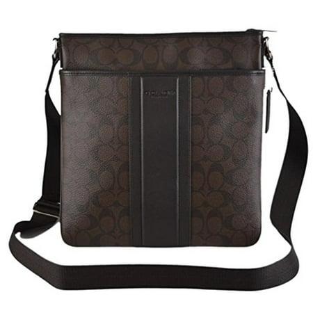 b16e0aadb2 Coach - Coach Heritage Signature Small Zip Top Cross Body Bag - Walmart.com