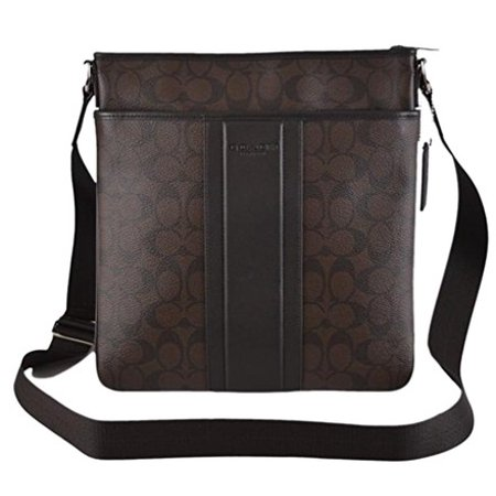 Top Zip Cross Body - Coach Heritage Signature Small Zip Top Cross Body Bag
