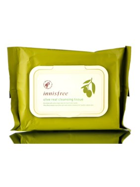 Innisfree Olive Real Cleansing Tissue - Cleansing Tissue