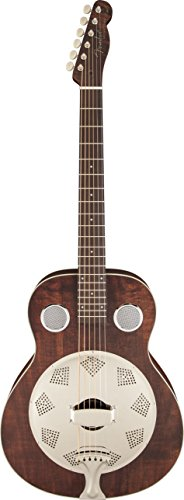 Brown Derby Resonator, Rosewood Fingerboard, Brown by Fender Musical Instruments Corporation