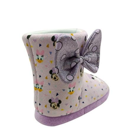 Disney Minnie Mouse & Daisy Duck Pals Cozy Bootie Slipper (Toddler Girls)