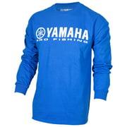 OEM Yamaha Pro Fishing 100% Cotton Long Sleeve Blue T-Shirt