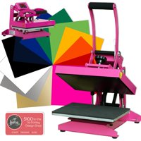 "Pink Craft Heat Press 9"" x 12"" Bundle"